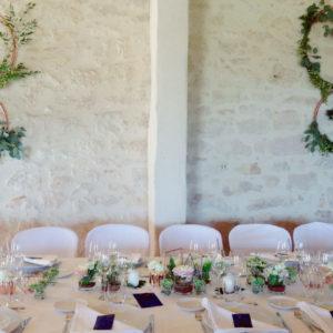 Cerceau De Décoration De Mariage En Feuillage Et Eucalyptus Pour Mur Et Plafond De Salle De Réception.