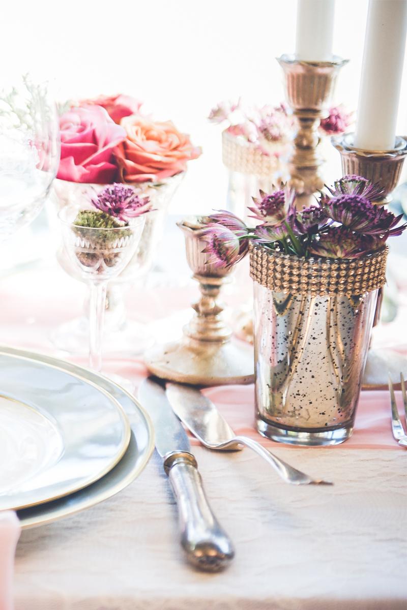 Astrance en fleur de bouquet, décoration et composition florale de mariage et événement.