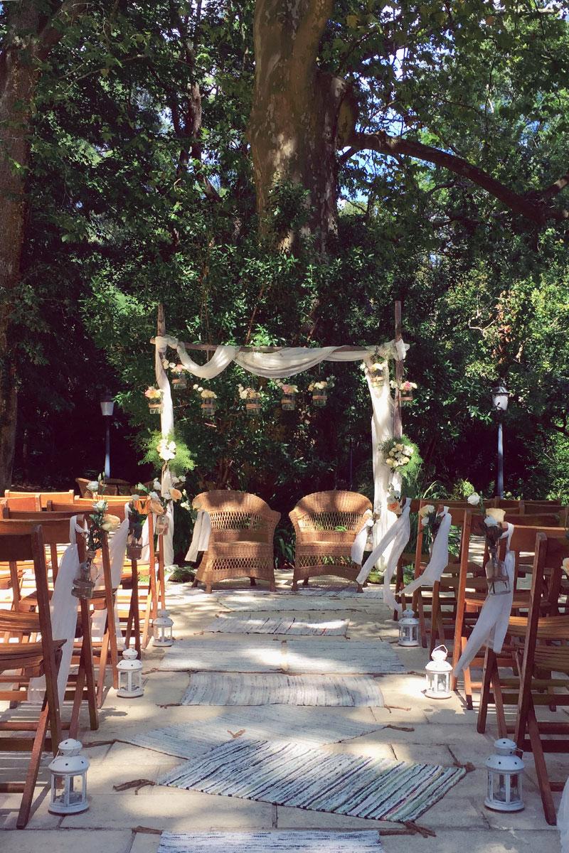 Mariage au Pays Basque avec fleurs et décoration d'Elisabeth Delsol.
