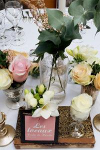 Décoration Florale Pour Un Mariage à Anglet Au Pays Basque Sur Un Thème Chic, Simple Et Bohème.