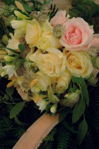 Bouquet De Mariée Bohème Chic De Mariage Dans Les Landes.
