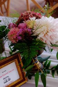 Bouquet De Fleur De Mariage Au Thème Bohème Champêtre.