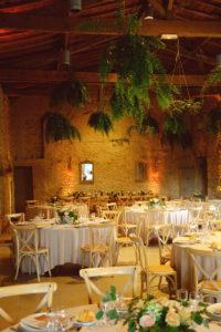 Le Château Lardier Lors De Mariage à La Décoration Bohème Nature En Gironde à Ruch Dans Le Sud Ouest.