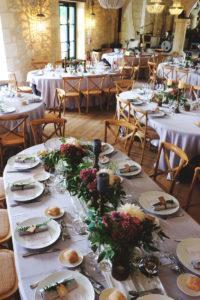 Déco Florale De Table De Mariage.