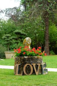 Lettre De Déco LOVE Pour Mot De Mariage.
